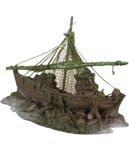 Decoratie vissersboot klein (4015)