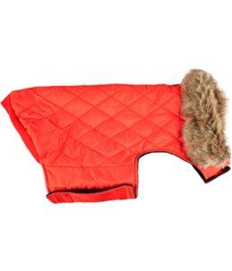 Winterjas elia rood 35cm