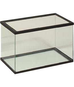 Volglas aquarium 50x25x30 cm zwart