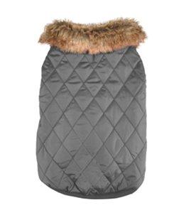Winterjas elia grijs 45cm