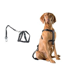 Dog-Secure Harnas met Gordel