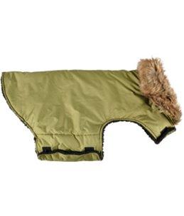 Winterjas madox groen 40cm