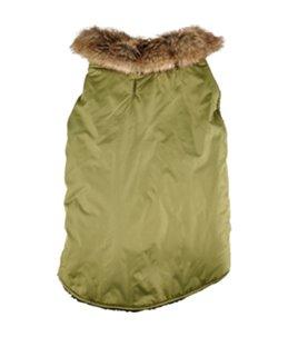 Winterjas madox groen 45cm