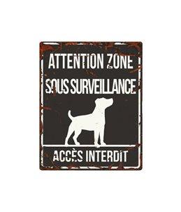 Plaque chien de garde:  Jack Russel