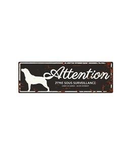 Plaque chien de garde:  Retriever