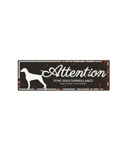 Plaque chien de garde:  Dalmatian
