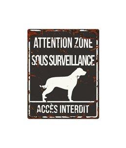 Plaque chien de garde:  Rottweiler