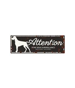Plaque chien de garde:  Danish Dog