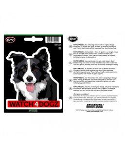 W4d sticker border collie/australische herder