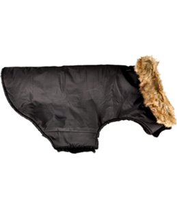 Winterjas madox zwart 45cm