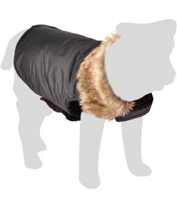 Winterjas madox zwart 50cm