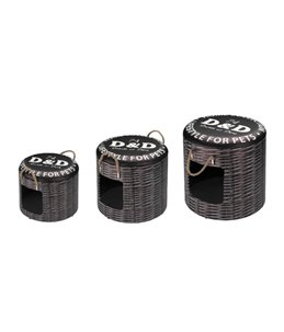 Pet Box Set Rattan