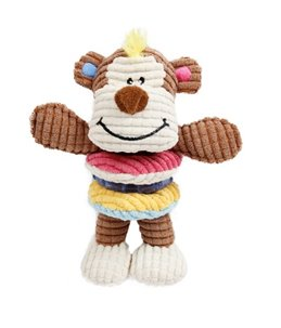 Monkey Play Squeaker & Tprring