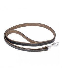 Metal Leder Leiband