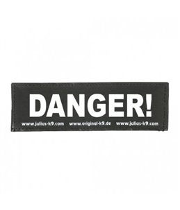 Julius-K9 Sticker DANGER!