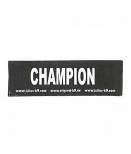 Julius-K9 Sticker CHAMPION