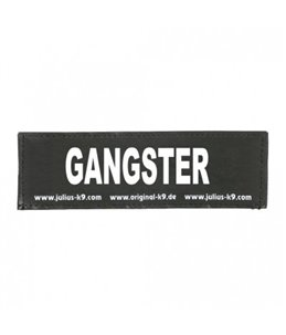 Julius-K9 Sticker GANGSTER