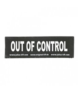 Julius-K9 Sticker OUT OF CONTROL