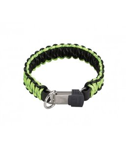 HALSBAND PARACORD FLUO + CLICLOCK