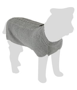 Trui sienna grijs 30cm