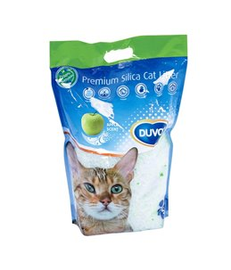 Kattenbakvulling premium silica appel