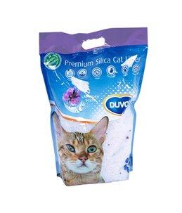 Kattenbakvulling premium silica lavendel