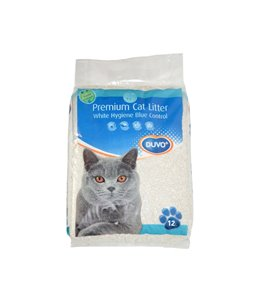 Kattenbakvulling premium blue white control