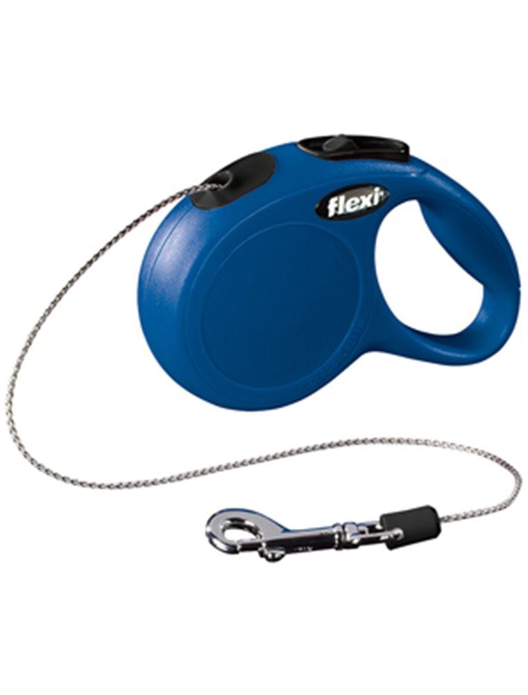Flexi new classic cat koord xs blauw  3m-8kg
