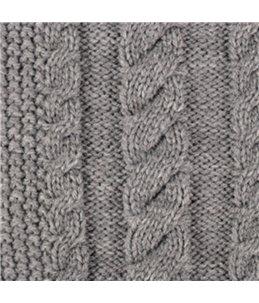 Trui sienna grijs 40cm