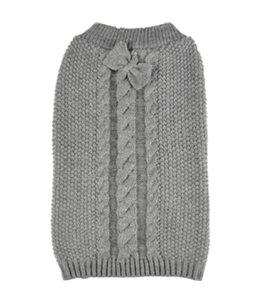 Trui sienna grijs 55cm