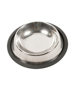 Inox eetschaaltje antislip