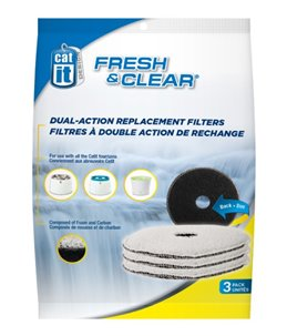 Ca filter fresh & clear 2l (3pcs)