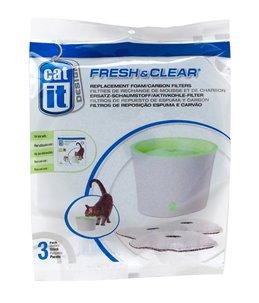 Filter fresh & clear 3l (3pcs)