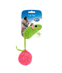 Assortiment muis en bal nylon