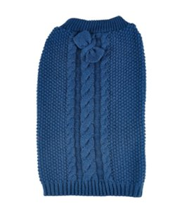 Trui sienna blauw 55cm