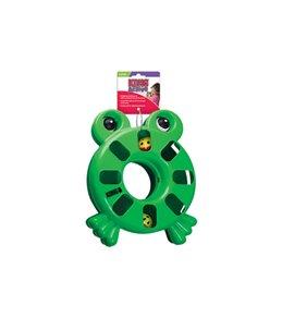 Kong cat puzzle toy kikker
