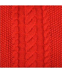 Trui sienna rood 35cm