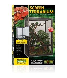 Ex aluminium draadgaas terrarium
