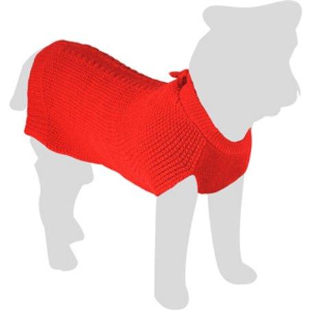 Hondentrui sienna rood ruglengte 45cm