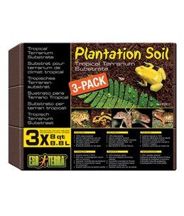 Ex tropisch terrarium substraat, 3-pack