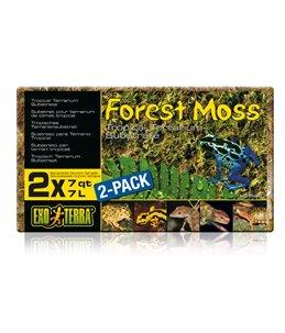 Ex forest moss terrariumsubstraat dubbelpak