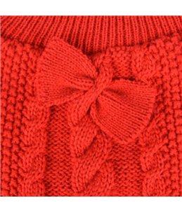 Trui sienna rood 55cm