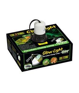 Ex klemlamp + glow reflector porselein