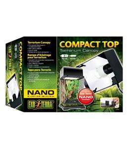 Ex compact top terrariumlichtkap, 20cm