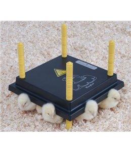 Warmteplaat 'Comfort' 25X25cm voor kuikens