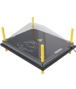 Afdekkap kunststof (PET) voor warmteplaat 40X50cm