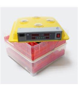 Broedmachine voor 72 eieren incl vocht meter