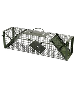Vangkooi 60x17x17cm, 2 openingen groen