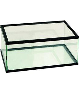 Volglas schildpadbak 50x30x18 zwart