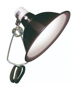 Klemlamp porselein max. 60w